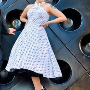 Dresses & Skirts - 50's halter dress handmade